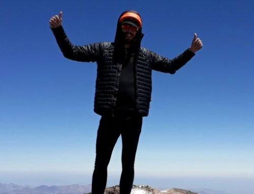 Nicolas Jégo solo/sin-apoyo al Volcán San José (5856)